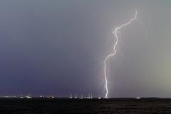 Festive sparkles (Louise Denton) Tags: lightning spark thunder storm boats water sea ocean darwin wetseason harbour wharf nt australia tropical cg