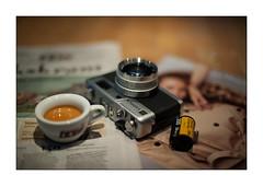 Saturday morning (Istvan Penzes) Tags: penzes nikond3x nikonnikkorais50mm12 handheld availablelight espresso dof yashicaelectro35gx