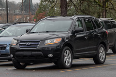 Hyundai Santa Fe (mlokren) Tags: 2019 car spotting photo photography photos pic picture pics pictures pacific northwest pnw pacnw oregon usa vehicle vehicles vehicular automobile automobiles automotive transportation outdoor outdoors hyundai santa fe cuv suv crossover black