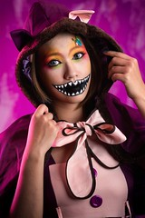 Liquid Cat 液態貓 (michelle,Hsiao) Tags: colorfuleyeshadow 彩繪 萬聖節彩妝造型 創意彩妝造型 貓造型 halloweenstyling halloweencat halloween halloweenmakeup cat liquidcat 特殊舞台妝髮