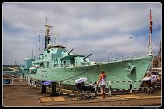HMS Cavalier (R73)_Chatham, Kent - The Historic Dockyard_England (ferdahejl) Tags: hmscavalierr73 chatham kent thehistoricdockyard england dslr canondslr canoneos600d