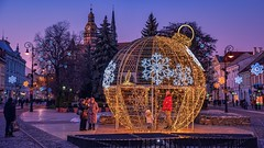 Christmas atmosphere (Slávka K) Tags: evening light decoration city slovakia 2019 bluehour walking enjoy mytime people atmosphere