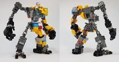 Ghoul buster side (chubbybots) Tags: hidden side lego mech mecha mechframe