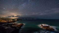 Stars Above Moloka'i (Mike Cialowicz) Tags: hawaii kapalua maui sky night stars milkyway molokai ocean pacific