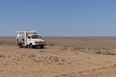 Outback Bedford (daj333) Tags: australia cars trucks vehicles abandoned southaustralia cooberpedy bedford van truck lumix fz300 panasonic