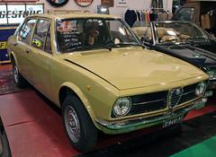 Alfetta (Schwanzus_Longus) Tags: essen motorshow german germany italy italian old classic vintage car vehicle sedan saloon alfa romeo alfetta