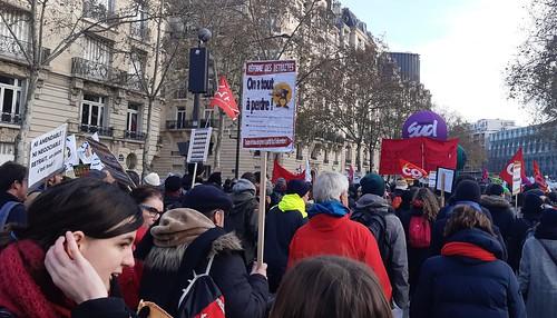 Manifestation retraites - 12 décembre 20189