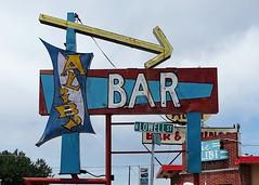 WY, Casper-U.S. 20 Alibi Bar Neon Sign