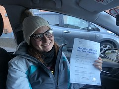 Massive congratulations  to Marta Rojnik passing her driving test this morning with only 6 minor faults!   www.leosdrivingschool.com  WARNING: Getting your license is a good achievement however being a SAFE driver for life is the biggest achievement!