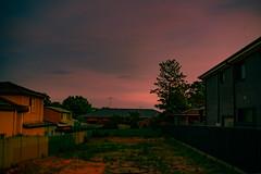 Empty Lot at 2am (commontropes) Tags: sonya7rii sony a7rii sonyalpha lensbaby burnside burnside35 35mm longexposure night emptylot empty