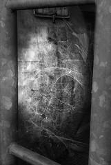Industry (hobbit68) Tags: spinnennetz spinnweben industriegebiet industry industrie light licht lines linien lostplaces lost verfallen verlassen blackwhite schwarzweis schatten