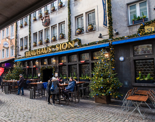 Weihnachten in Köln: Brauhaus Sion - Christmas in Cologne: Brown house Sion