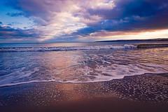 Twilight (simz23) Tags: colourful beautiful sky clouds peaceful stillness photographer nature ocean sunset picturesque filey yorkshire relax view seascapes landscape bubbles twilight sand sun sea
