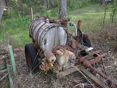 Wooden Tank (mikecogh) Tags: basketrange trailer tank wooden pump