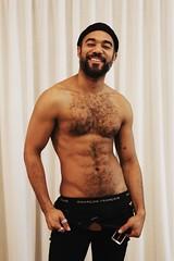 Elias # 7 (just.Luc) Tags: shirtless barechested torsenu chesthair nipples smile sourire glimlach lächeln man male homme hombre uomo mann handsome attractive hot sexy baard barbe barba bart beard garçonfrançais