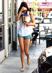Leaving Starbucks on July 3rd 2013 in Calabasas (kendalljenner.my.id) Tags: sensuality cute hair people fashion love portrait jenner kendall sensual girl beauty beautiful young closeup style glamour kendjenfp