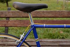 KLM_9140_00014 (Fresh Moods) Tags: 1973 73 colnago super vintage road bike ernesto cambiago old classic preserved blue columbus sl cinelli milano campagnolo nuovo record romania italian hand made unicanitor giro ditalia original nisi moncalieri