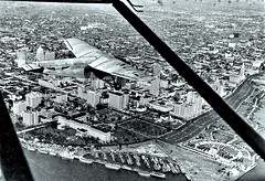 Ford 4-AT-B trimotor plane NC 7121 over Miami 1-1930 (over 19 MILLION views Thanks) Tags: ford stout trimotor passengerplane 4atb miami 1930 airrace