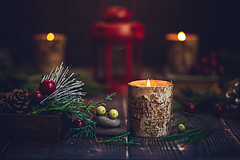 A candle loses nothing by lighting another candle (Chapter2 Studio) Tags: stilllife sonya7ii smileonsaturday chapter2studio calm candle mood darkmood holiday lantern lightanddark