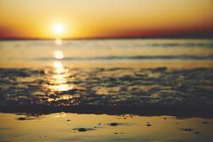 when the sun is going down (Jos Mecklenfeld) Tags: zee meer sea noordzee nordsee northsea strand beach sunset sonnenuntergang sonya6000 sonyilce6000 sonye55210mmf4563oss sel55210 callantsoog noordholland netherlands