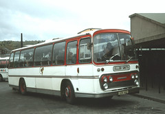 Ellen Smith Tours . Rochdale , Lancashire . SDK442 . Burnley , Lancashire . 21st-July-1979 . (AndrewHA's) Tags: bus coach lancashire ellen smith tours rochdale leyland worldmaster rt3 panorama elite plaxton rebody sdk442 burnley