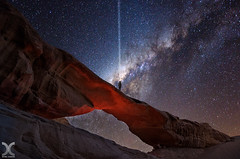 May The Force Be With You (DanielKHC) Tags: jordan wadi rum arch composite milky way galactic jedi star wars nikon