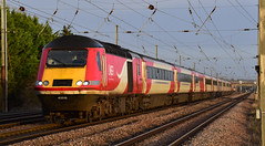 Last Run from Lincoln (simmonsphotography) Tags: railway railroad train bedfordshire biggleswade eastcoastmainline eastcoast ecml mainline lner intercity highspeed diesel dieselelectric intercity125 ic125 hst 1b81 farewell class43 lincoln