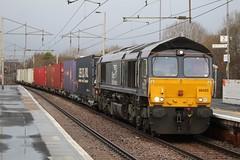 COATBRIDGE CENTRAL 66425 (johnwebb292) Tags: coatbridge diesel class 66 66425 drs