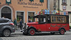 christmas transport (marcostetter) Tags: roadtrip reise travel urban rothenburg street people xmas