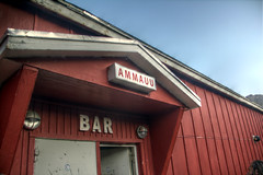 Tasiilaq Bar (pbr42) Tags: greenland tasiilaq bar building enterance door sign sky outdoor