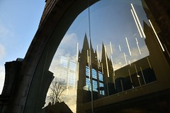 OCT_1306_00001 (Roy Curtis, Cornwall) Tags: uk cornwall truro view urban trurocathedral reflection