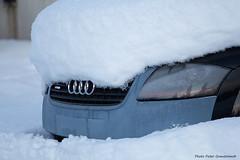 Audi TT! (petergranström) Tags: approved audi tt car bil sportscar sportbil snow snö