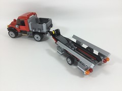 LEGO City - Get fishing! - MOCs (60071+60176) (Sergey Tulin) Tags: city truck lego trailer moc 60071 самоделка