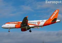 OE-ICF Airbus A320 Easyjet (@Eurospot) Tags: airbus a320 toulouse blagnac oeicf easyjet gezuh 4708