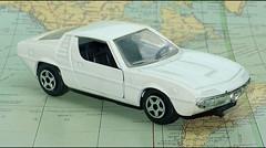 Alfa Romeo Montreal (1488) Norev JC L1220259 (baffalie) Tags: auto voiture miniature ancienne vintage classic old italian sport car coche diecast toys jeux jouet