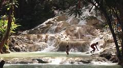 Dunn's River Falls (Prayitno / Thank you for (12 millions +) view) Tags: dunn river water falls rock ocho rios bikini sexy girl jamaica outdoor activity tourist fun spot photo instagram moment