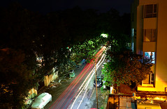 And the night was still young (vharishankar) Tags: light trials long exposure night street lighttrials longexposure