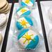 Argentina Flag Cupcakes - El Porteño Empanadas - San Francisco, California