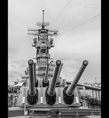 USS Missouri - Pearl Harbor - Honolulu, Oahu, Hawaii in B&W (J.L. Ramsaur Photography) Tags: pearlharbornationalmemorial pearlharbor engagementtopeace ussmissouri bigmo bravery sacrifice loss heroism heroes usnavy worldwarii ww2 navy unitesstatesnavy remember memorial pacificwar wwiivalorinthepacificnationalmonument nationalparkservice lastusbattleship 16inchmark7guns usnavalbase honoluluhawaii honolulu honoluluhi usbattleship americanbattleship fordisland uspacificfleet jlrphotography nikond7200 nikon d7200 oahuhi honolulucounty hawaii 2019 engineerswithcameras islandsofhawaii photographyforgod hawaiianislands islandphotography screamofthephotographer jlramsaurphotography oahu tennesseephotographer oahuhawaii bucketlisttrip thegatheringplace 3rdlargesthawaiianisland 20thlargestislandintheunitedstates therainbowstate engineeringasart ofandbyengineers engineeringisart engineering bw blackwhite blackandwhite nik niksilverefexpro2 silverefex nikcollection monochrome colorless