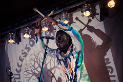 N'famady Kouyate @ Whelan's (SteMurray) Tags: approved gruff rhys super furry animals ireland irish ste murray steie whelans dublin live gig music venue show lights guitar indie electronic pang tour performance welsh wales goldenplec