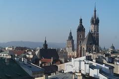 SAM_6278 (daviemoran1) Tags: basilica stmarys church gothic krakow poland historic architecture towers landscape city buildings skyline