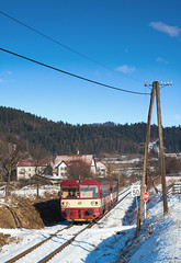 ČD 810.506-6, Os 13264, Nový Hrozenkov, 282 (cz.EightyFour) Tags: 810 čd vagónkastudénka m1520 282 novýhrozenkov vlak zug train 2560 qhd nikond50