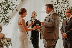 Wedding at Pinstripes (FestivitiesMN) Tags: floral wedding ceremony reception bride groom bridal party boutonniere