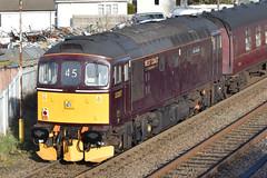 """Photo of BR Class 33/2 Bo-Bo Diesel-Electric '33207' """"Jim Martin"""""""