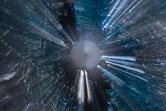 Zoom Burst tree decs 2 (Andy Jah) Tags: decoration xmas christmastree blue christmas zoomburst motionblur blur nikkor nikon