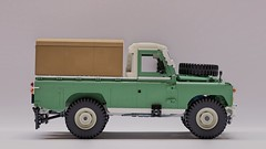 Land Rover Pickup (John D O'Shea) Tags: land rover 1 ton lego pickup moc offroad 4x4