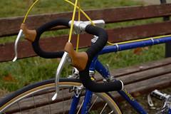 1973 Colnago Super vintage road bike (Fresh Moods) Tags: 1973 73 colnago super vintage road bike ernesto cambiago old classic preserved blue columbus sl cinelli milano campagnolo nuovo record romania italian hand made unicanitor giro ditalia original nisi moncalieri