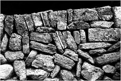 Stone wall (na_photographs) Tags: structure pattern mauer muster stones steine
