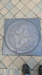 Manhole Cover (donXfive) Tags: year places copenhagen tivoligardens 2015 july month denmark