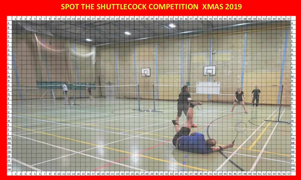Pittville-Badminton-Club-Spot-the-Shuttlecock-Christmas-Competition-2019
